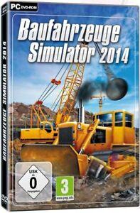 Baufahrzeuge Simulator 2014               PC               !!!!! NEU+OVP !!!!!