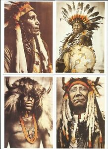 LOT-20-CARTES-INDIENS-POSTALES-GERONIMO-SITTING-BULL-TIPI-CHEYENNES-CROW-SIOUX