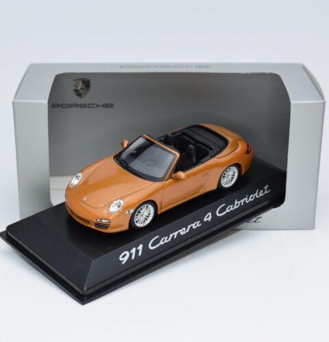 Minichamps WAP02001618 Porsche 911 Carrera 4 Cabriolet 2008 1:43 OVP 114//22