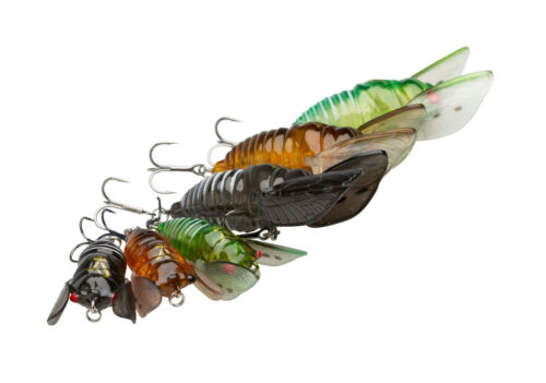 SAVAGE GEAR 3D Cicada 4,8cm Zikade Cicade Mini Crawler Topwater Käfer