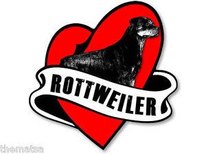 ROTTWEILER-HEART-BANNER-5-034-TOOLBOX-HELMET-DECAL-STICKER-USA-MADE