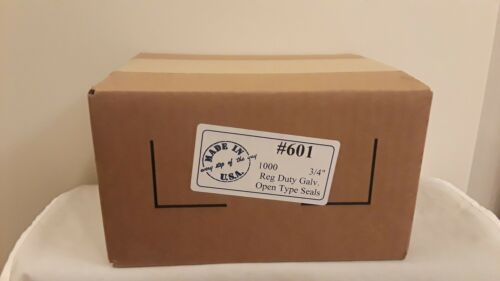 3//4 In. Open Steel Strapping Seal Box Pack-1000