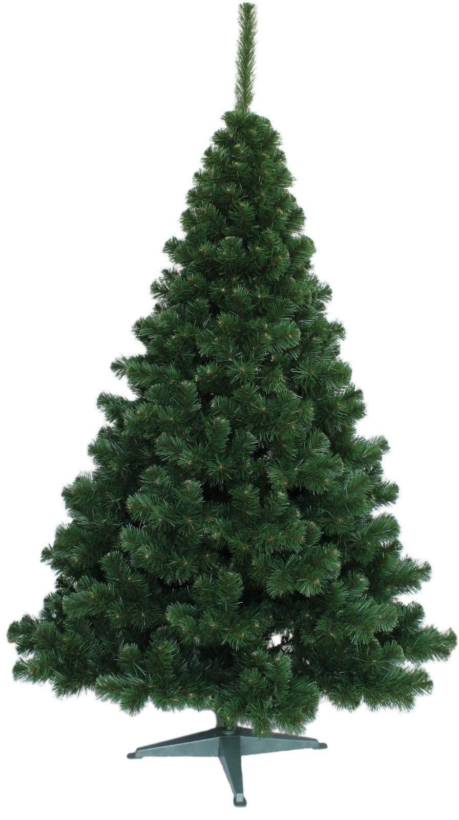 Luxury Christmas Tree New Boxed Traditional Forest Grün Pine Bushy 3 Größes Fir
