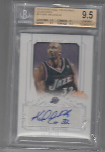 2013-14-National-Treasures-Signatures-Karl-Malone-09-49-BGS-9-5