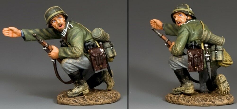 KING & COUNTRY WW2 GERMAN ARMY WH037 THIS WAY LADS MIB