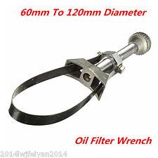 Car Oil Filter Removal Tool Strap Wrench 60-120mm Diameter Adjustable Aluminium