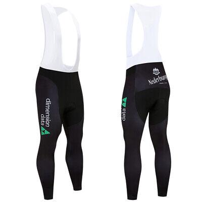 Dimex Mens Cycling Bib Tights Long Compression Pants Padded MTB Road Bike Lycra