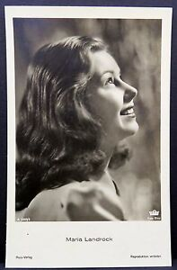 Maria-Landrock-Ak-Photo-Postcard-Photo-Postcard-Lot-Ma-1548