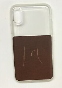 Nomad-American-Leather-Case-for-Apple-iPhone-X-Xs-Brown-clear