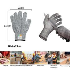 12pairs Anti Cut Gloves Safety Cut Proof Stab Resistant Kitchen Butcher Tools