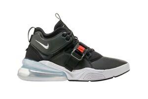 b2be76101 Nike Mens AIR FORCE 270 Shoes Black Metallic Silver White AH6772-001 ...