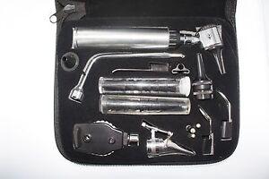 ENT-Ophtalmoscope-Otoscope-Nasal-Larynx-Diagnostique-Ensemble