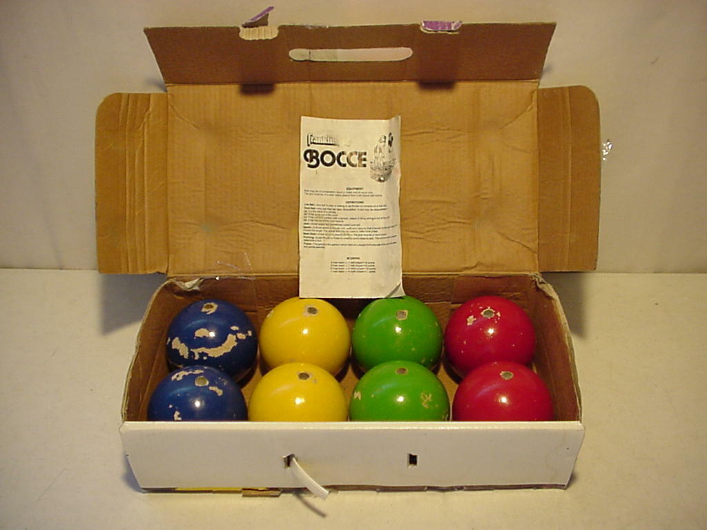 Tournament Grade Professional Bocce Set with Eight Balls