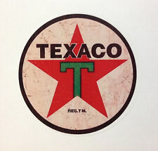RAT ROD HOT ROD STREET ROD  DECAL STICKER CHOPPER  BOBBER TEXACO