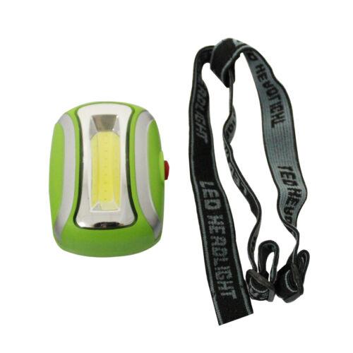 Hot 600LM COB LED Mini Headlamp Fishing Camping Headlight Head Lamp Torch US
