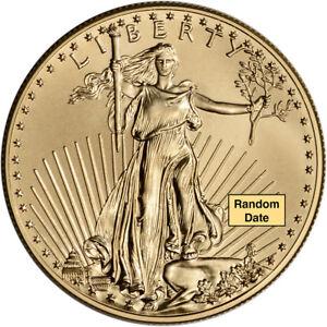 American Gold Eagle (1 oz) $50 - BU - Random Date