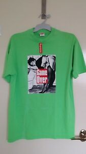 RARE-New-Supreme-Game-Over-Tee-Size-L-MEN-039-S-T-shirt