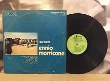 ENNIO MORRICONE - I WESTERN LP VG/VG+ 1971 RCA INTI 1338