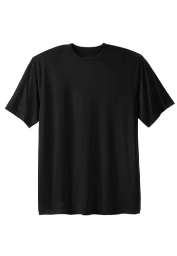 Big Men/'s Cool-n-Dry Performance Adult T-Shirt Short Sleeve Sizes 2XL to 9XL
