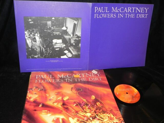 PAUL MCCARTNEY FLOWERS IN THE DIRT CAPITOL RECORDS IN THE SHRINK WITH INSERT