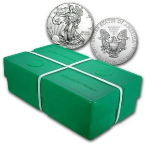 Bank Wire Payment. 2019 1 oz Silver American Eagle BU Monster Box