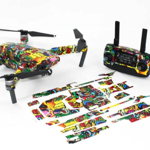 Graffiti Drone Skin Wrap Decal Stickers for DJI Mavic Pro