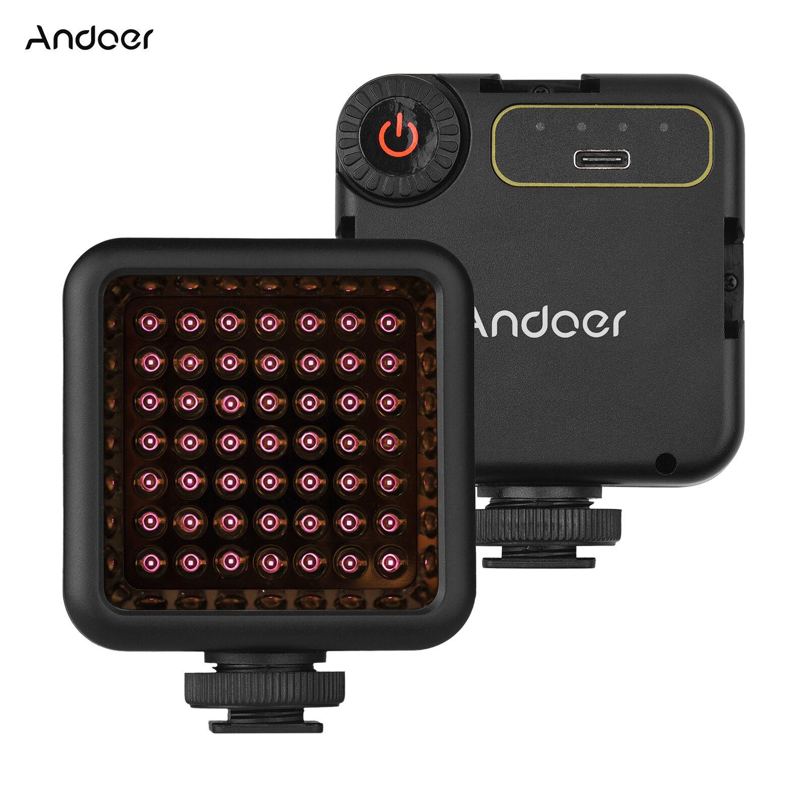 Andoer IR49S Mini IR Night Vision Light Infrared Photography Light for W7D0