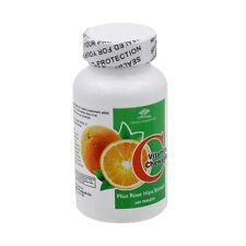 6 bottles Vitamin C with Rose Hips, 100 Chewable Tablets/bottle, big saving!