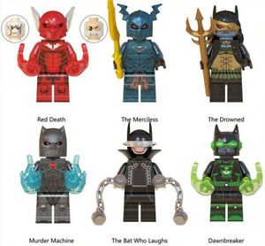 DC-Superhero-Batman-Dark-Nights-Red-Death-Merciless-Bat-Building-Blocks-Toys-New