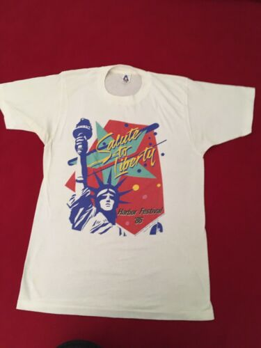 Original 1986 Statue Of Liberty Centennial Tshirt