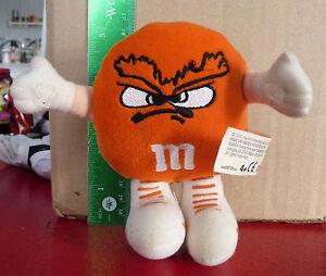 Plush-Doll-Toy-5-039-039-M-amp-M-039-s-Minis-SWARMEES-Orville-Orange-Velcro-Hands-Loop
