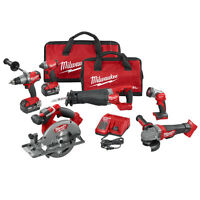 Milwaukee 2896-26 M18 Fuel 18-volt Cordless Power Lithium-ion 6-tool Combo Kit on sale