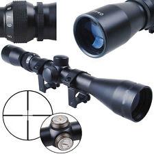 3-9X40 Mil Dot Air Rifle Scope Illuminated Mounts Hunting For Optics Sniper Gun