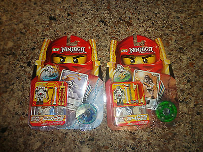 New Lot Lego Ninjago Masters of Spinjitzu Cole DX 2170 Kruncha 2174 Wyplash 2175