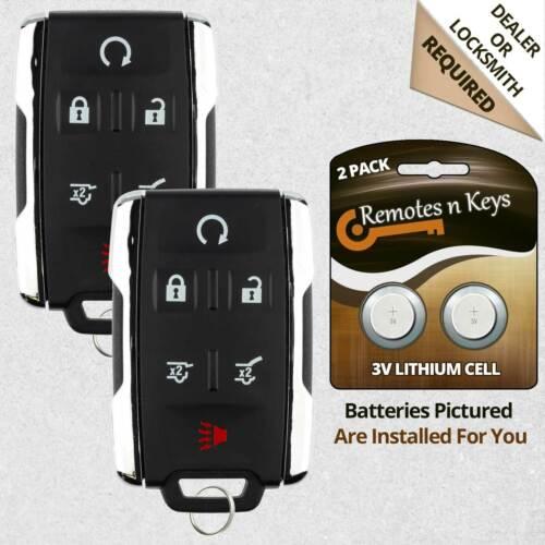 2 Car Key Transmitter for 2009 2010 2011 2012 2013 2014 2015 Chevrolet Traverse
