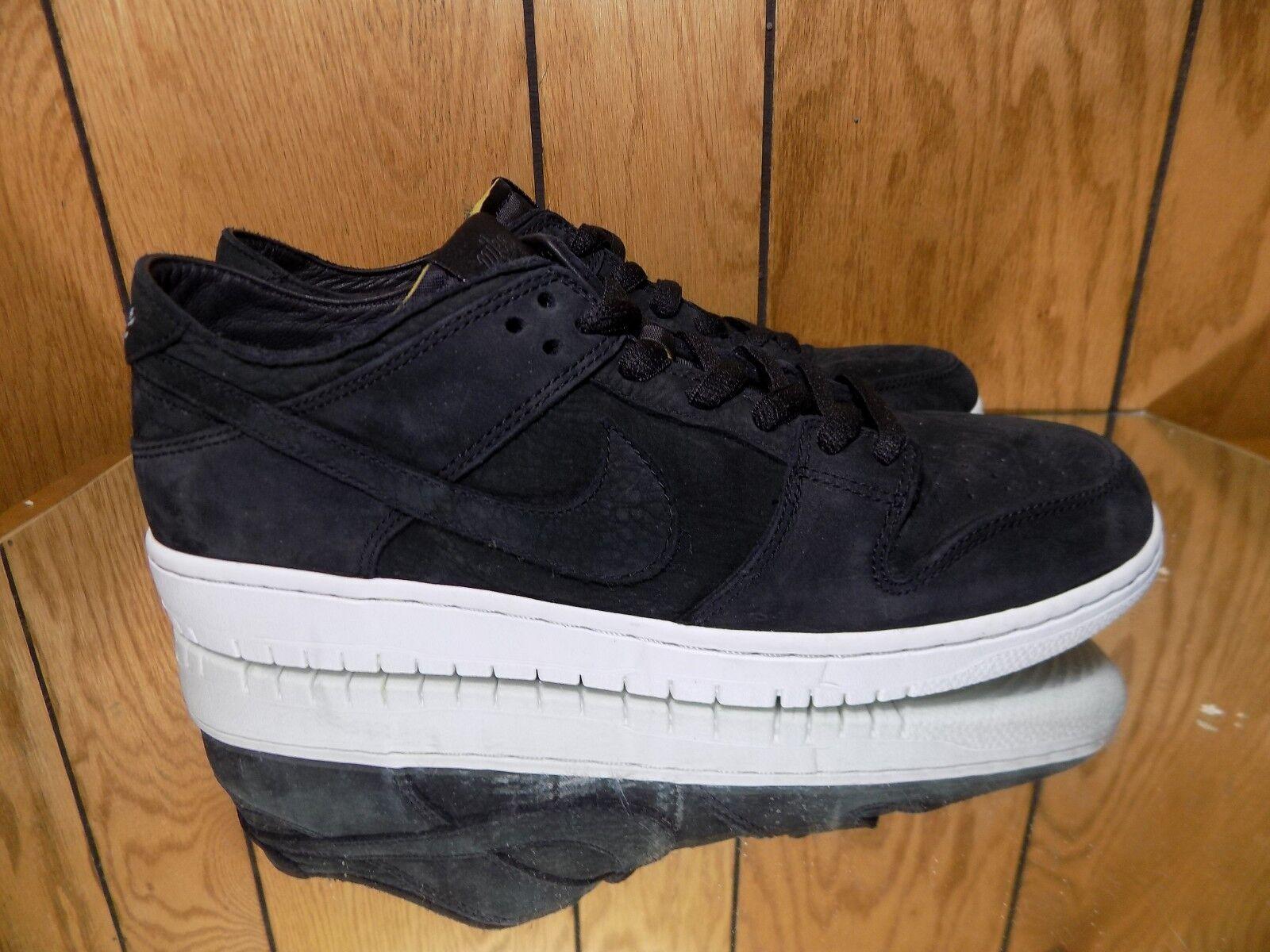 Nike SB Dunk Low Pro AA4275-002 Decon Black size 8.5 Premium
