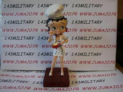 disco danse BB11 figurine Betty boop resine en blister MIB 15 cm environ