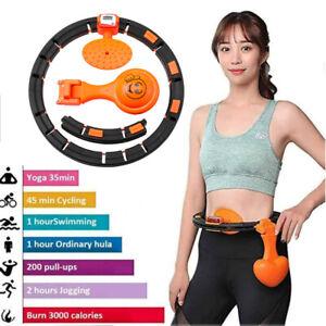 Multi Smart Hula Hoop Einstellbar Massagenoppen Bauchtrainer Gymnastikreifen Top