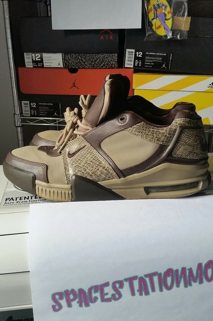 NIKE AIR FORCE MAX MID 06  SNAKESKIN  SIZE 12