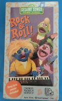 Sesame Songs Home Video Rock & Roll Vhs Brand Sealed