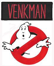 Ghostbusters - Venkman + no Ghost - Uniform Kostüm Patch - Aufnäher Set - neu