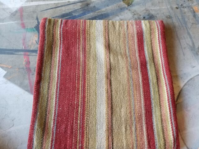 Pottery Barn Quot Serape Stripe Wool Quot 22 Quot Pillow Cover Ebay