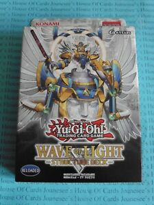 Yu gi oh wave of light structure deck eng 1st edition new bnib image is loading yu gi oh wave of light structure deck mozeypictures Images
