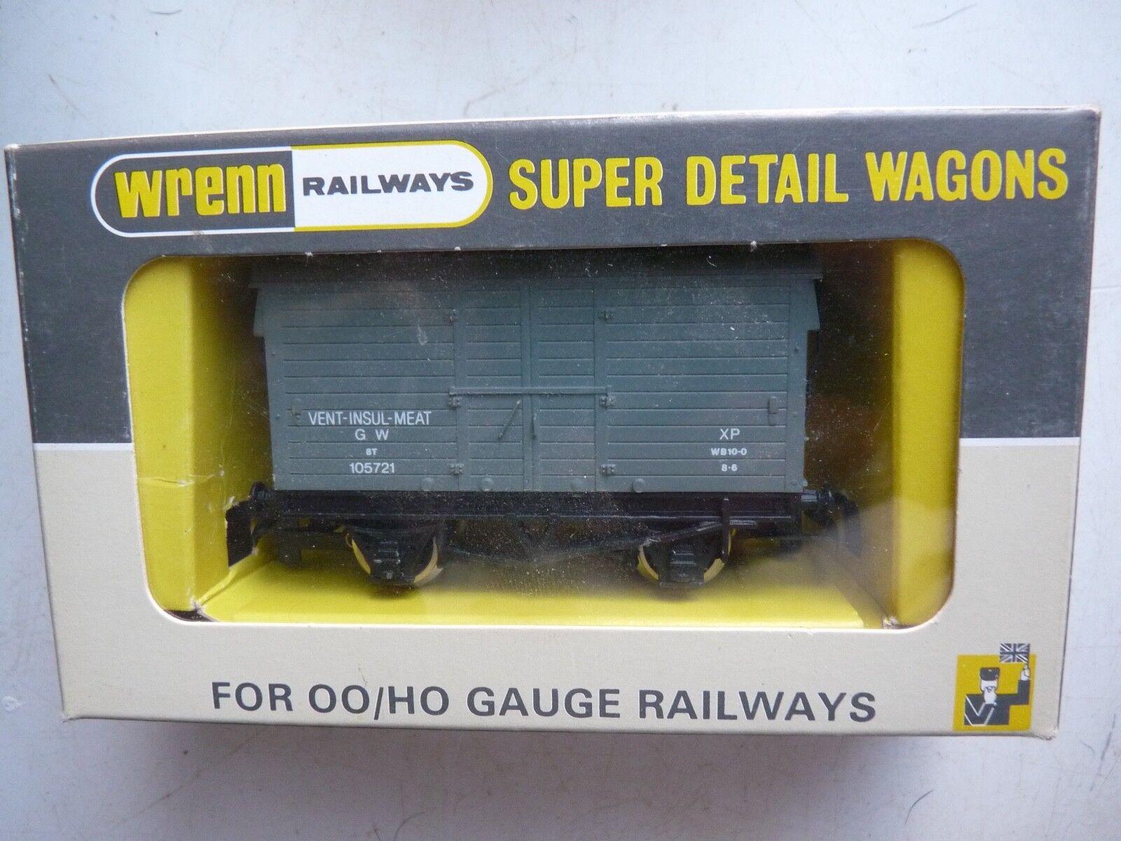 RARE WRENN W.5094 G.W.grigio VENTILATED VAN  scatolaED