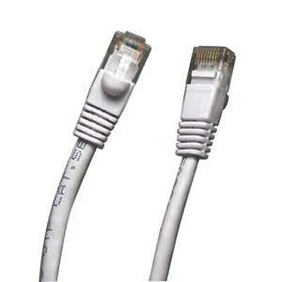 White 150 FT Foot 45M Cat5 Patch Ethernet LAN Network Router Wire Cable Cord NEW