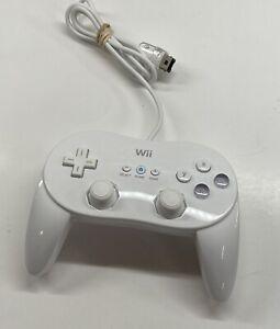 Nintendo Wii Rvl-005 Classic Pro Controller White