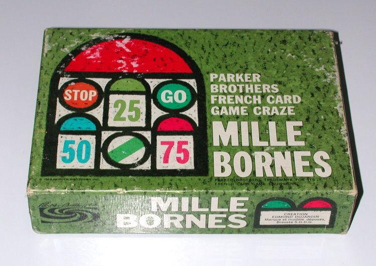 Mille Bornes Complete 1962 Parker Bredhers