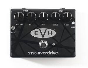 mxr evh5150 eddie van halen overdrive guitar effects pedal dunlop 710137101630 ebay. Black Bedroom Furniture Sets. Home Design Ideas