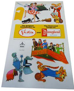 'Couvres-lits' et balais portables Original de Disney (1971) Nouveau