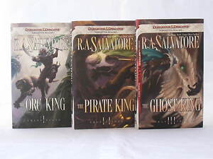 Details about Transitions Trilogy / Legend of Drizzt Books 20-22 in Series  by R A  Salvatore
